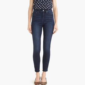 """J Crew 10"""" high rise Toothpick blue jeans size 26"""